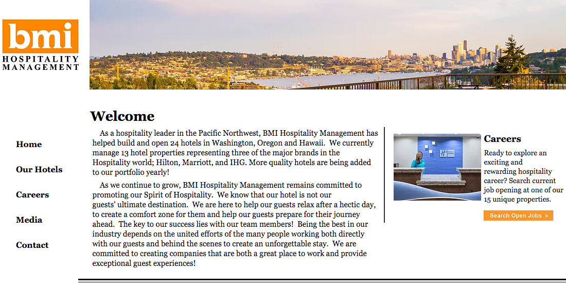 BMI Hospitality Management